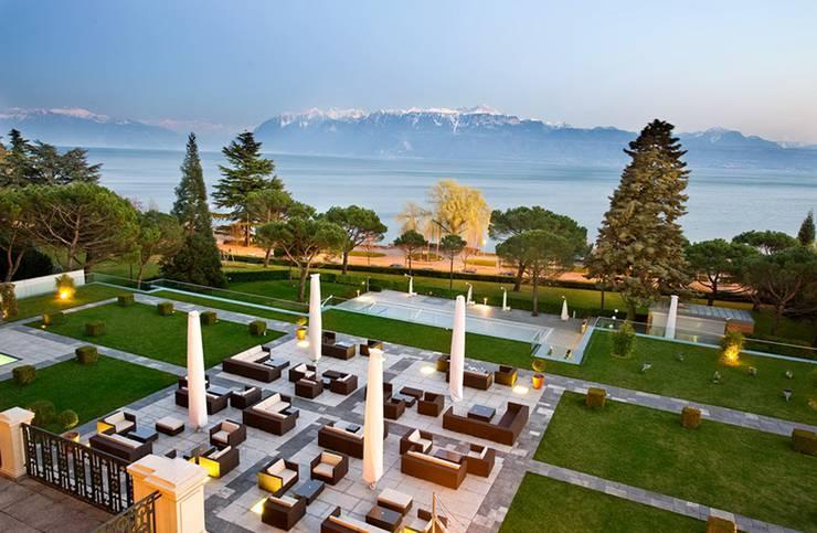 Restaurant Terrasse Bord Du Lac Geneve